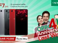 Get the P17990 OPPO F7 for only P14990 at OPPO4U Anniversary Sale