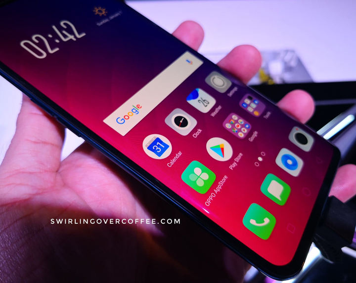 OPPO Find X, the first smartphone to hide all its cameras for a
