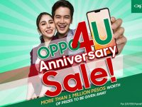 OPPO4U Anniversary Sale – More than PHP 1 million worth of prizes, discounts, and freebies for OPPO customers this July
