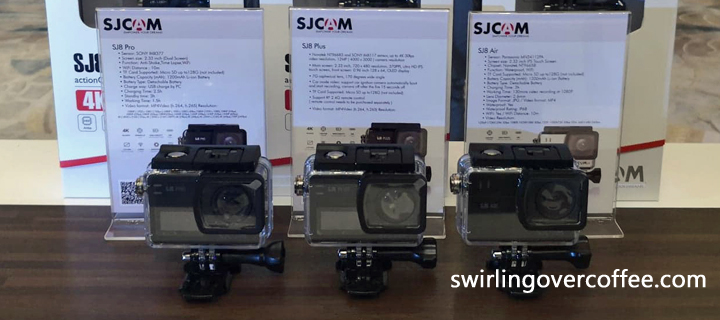 Get the SJCAM SJ8 Pro (P15999), SJ8 Plus (P9989), and SJ8 Air (P4999) from  Lucky HR store on Lazada and Shopee