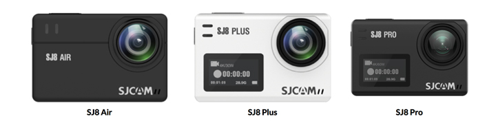 The SJCAM S8 series -the SJ8Pro (P15999), SJ8 Plus (P9989), and SJ8 Air (P4999) - is now available in the Philippines through Lazada and Shopee.