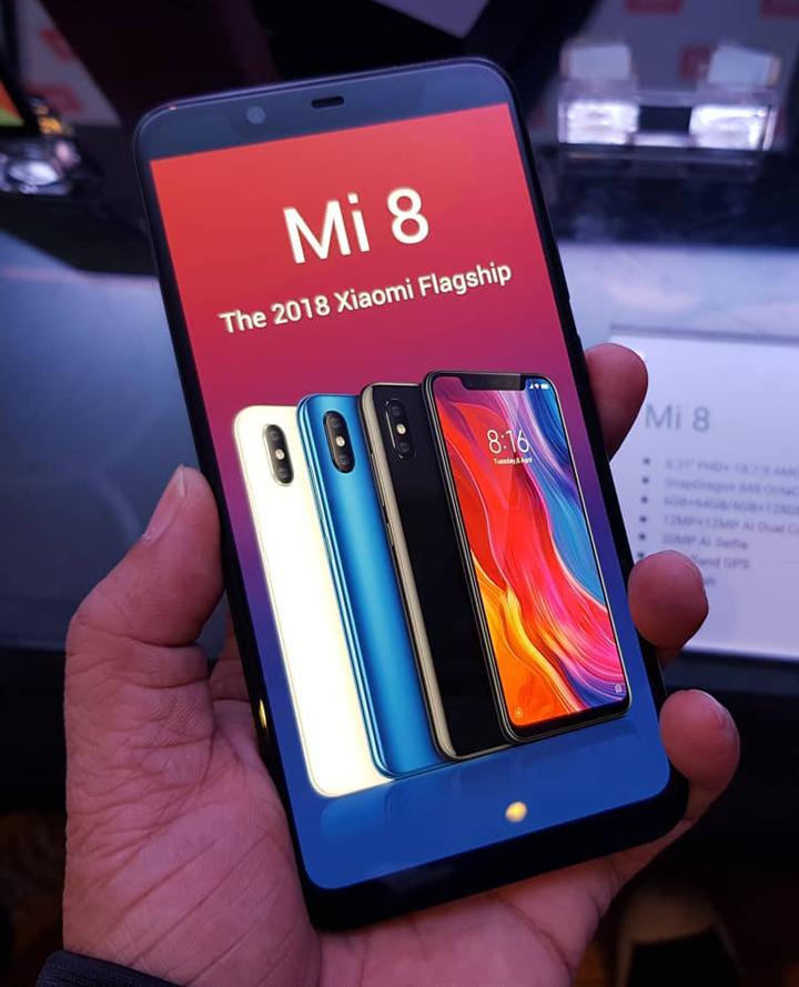 Xiaomi Mi 8 price, Xiaomi Mi 8 specs, Xiaomi Mi 8 review
