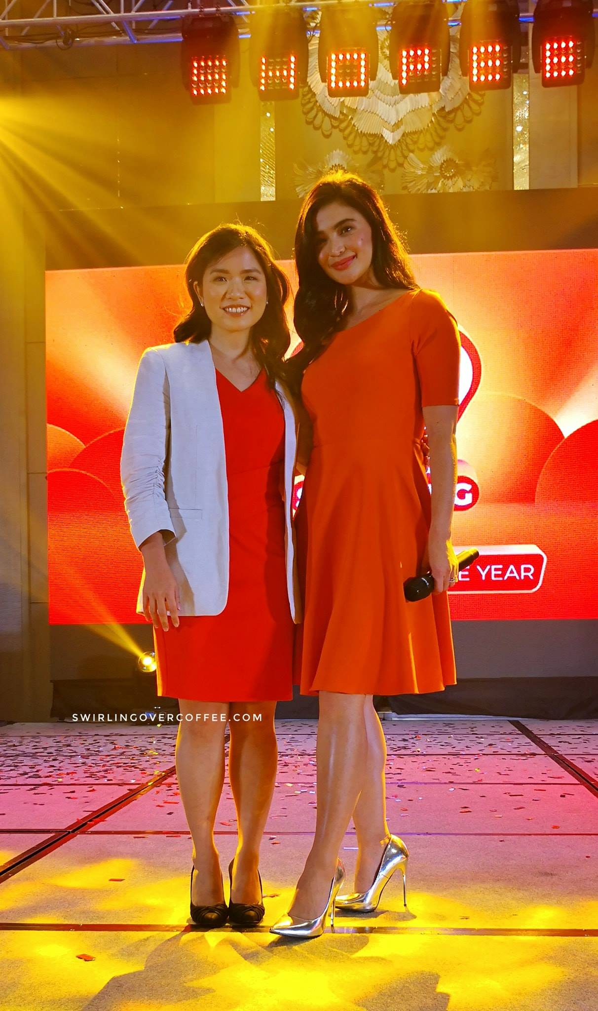 Shopee Philippines Director Jane Lim and Shopee Philippines Brand Ambassador Anne Curtis.