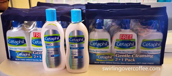 Listen to FREE skincare talks at Cetaphil 7 Days from Aug 20 to 26