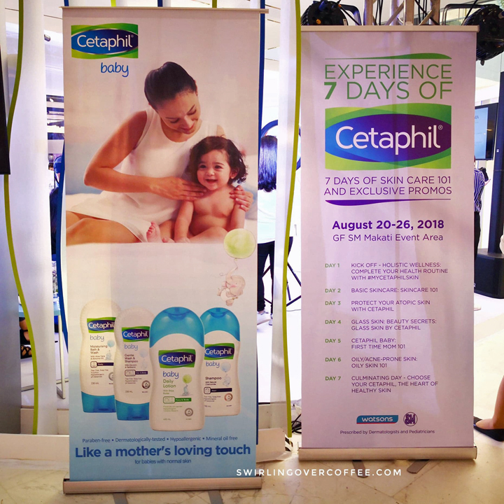 Cetaphil 7 Days happens at SM Makati from Aug 20 to 26