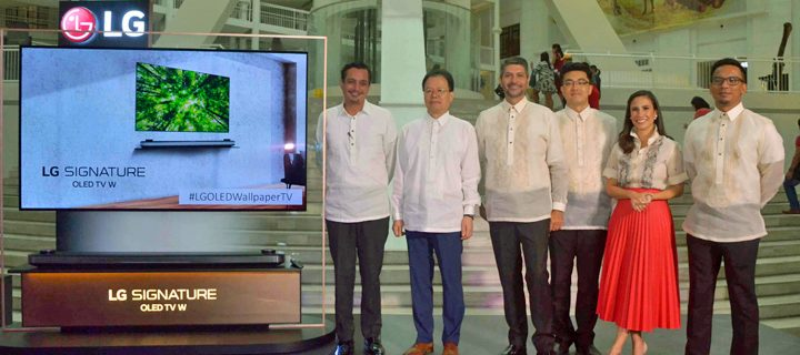 LG PH donates 3 OLED TVs to the National Museum of the Philippines