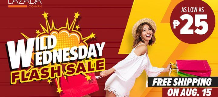 Lazada Wild Wednesday: Flash Sale like no other!