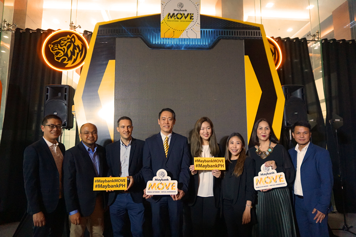 Maybank MOVE lets you open an online-only iSave savings account via the Maybank2u PH mobile app.