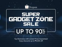 Free shipping and up to 90% off at Shopee Super Gadget Zone Sale from Aug 20-22