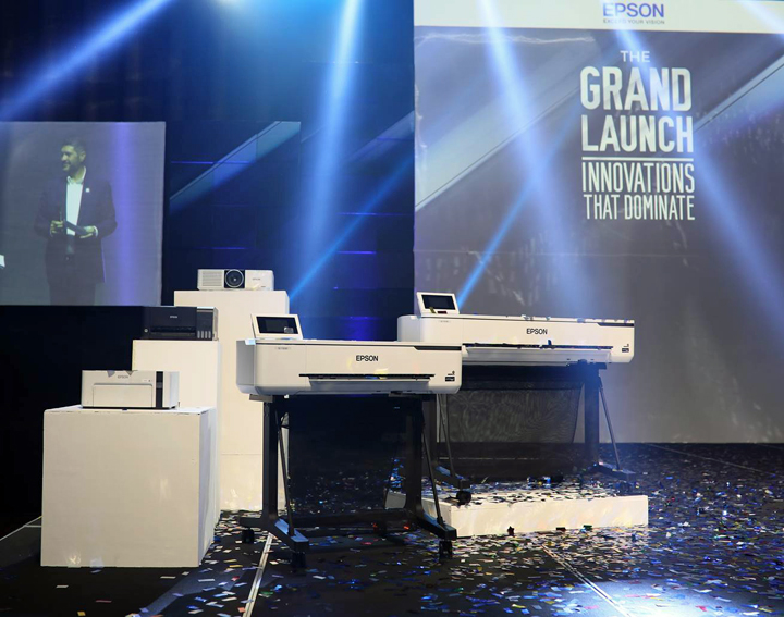 Epson Philippines Corporation unveils its latest business laser projectors, EcoTank inkjet printers and large-format printers through a grand launch dubbed Innovations that Dominate held at the Grand Hyatt in BGC.