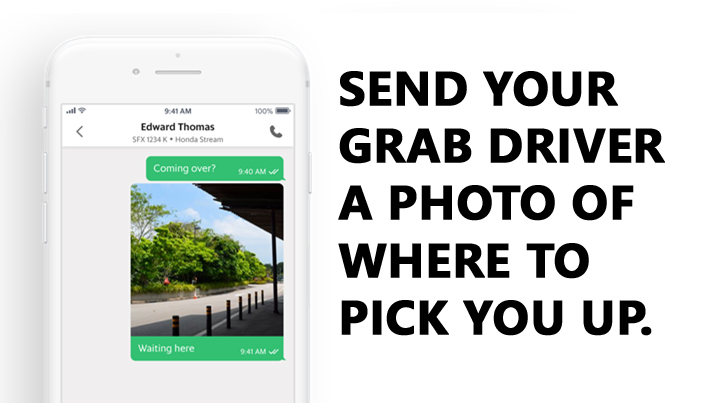 GrabChat's new photo-sharing feature can reduce booking cancellations