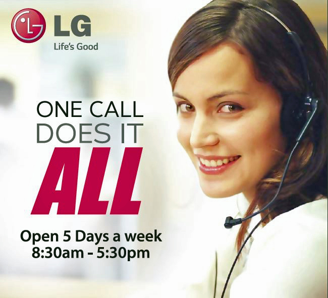 Pleasing the customer goes beyond the completion of the sale. At LG, customer service means providing dedicated support through digital and traditional means.