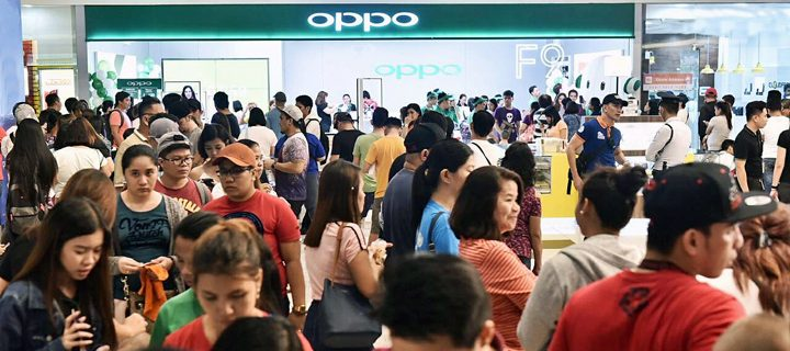 Experience the new OPPO F9 at the SM MOA roadshow on Sep 1 to 2