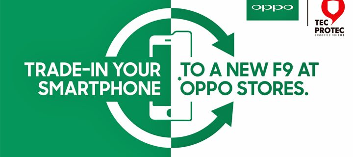 OPPO and AmTrust Mobile Solutions Empowers Consumers with TecProtec Trade-in Program