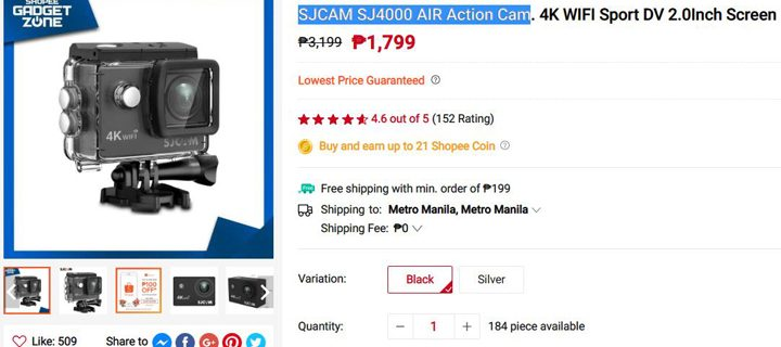 Shopee Gadget Zone guarantees lowest priced products online