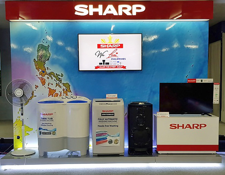 "Sharp announces Luzon winners for ""We Love Philippines"" campaign"