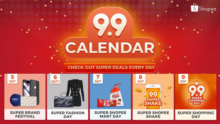 Shopee users can enjoy up to 80% off, flash deals, over ₱200,000 vouchers to giveaway, and exclusive gifts from their favorite brands.