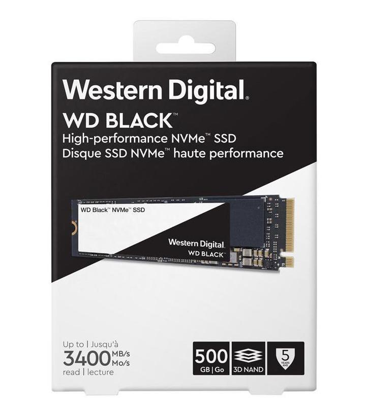 Western Digital intros high-performance Western Digital® WD Black 3D NVMe™ SSD.