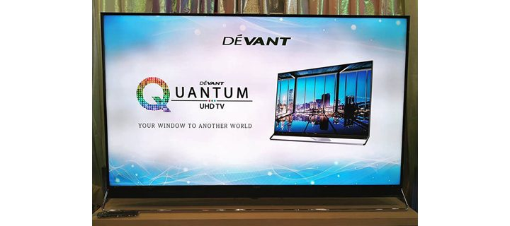 "Devant Quantum Ultra HD TV line up launched – 55"", 65"", and 75"" now available"