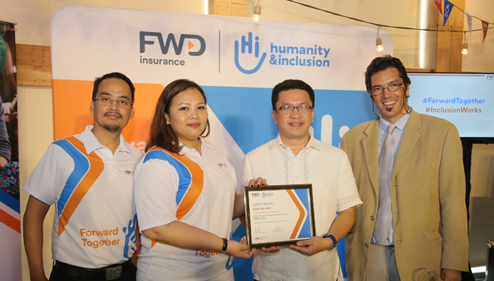 Pan-Asian insurer FWD and non-profit Humanity & Inclusion to help hundreds of young people with disabilities in Asia find employment