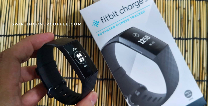 P9,990 Fitbit Charge 3 is an advanced, slim, swimproof fitness tracker with 7 days battery life