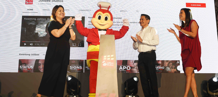 Jollibee launches newest entertainment channel