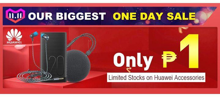 Huawei Piso Lazada Sale on 11.11