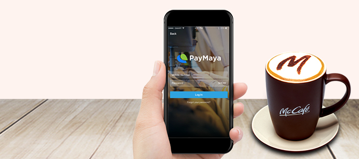 McCafé customers can enjoy P100 cashback with PayMaya QR!