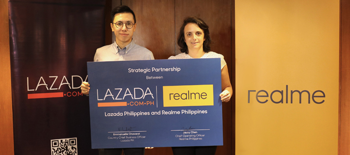 Realme forges ties with Lazada to further boost e-commerce in PH
