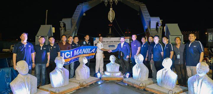 JCI Manila & Gold Seas Tuna launch underwater exhibition for coral rehabilitation