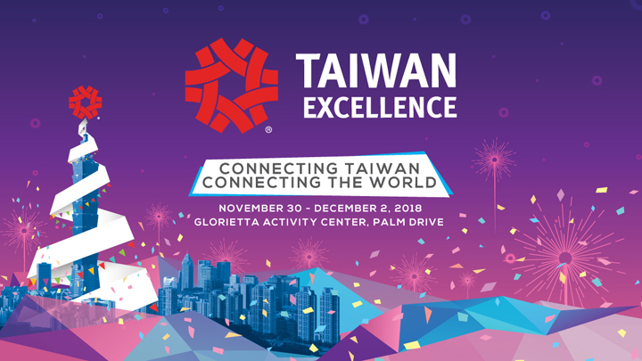 Christmas Gift Ideas for all at the  2018 Taiwan Excellence Experience Zone