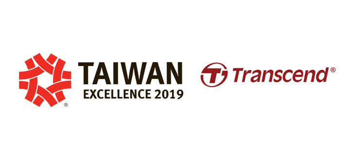 Transcend Is Honored with Five Taiwan Excellence Awards 2019