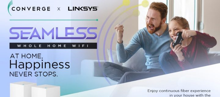 Converge ICT offers new Wi-Fi services, introduces Linksys  Whole Home Wi-Fi System to Fiber Consumers