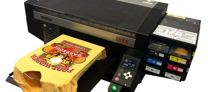 Brother GTX machine: All you'll ever want in a direct-to-garment printing machine