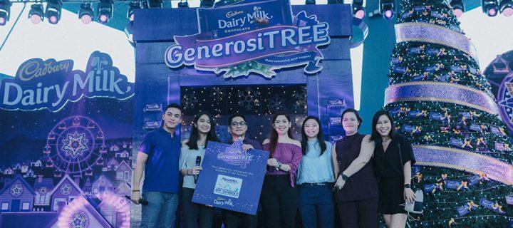 Make something good happen this Christmas with the Cadbury GenerosiTREE!