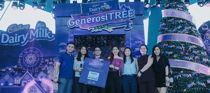 Make something good happen this Christmas with the Cadbury GenerosiTREE!