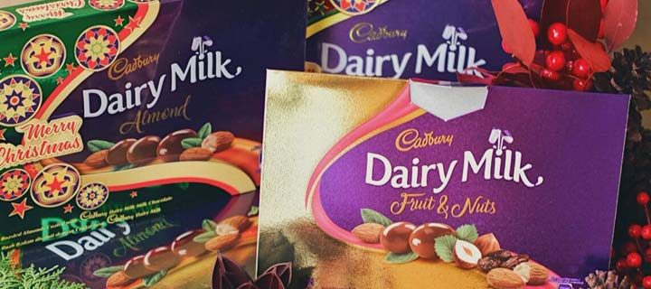 Share the Love this Christmas with the New Cadbury Dairy Milk Gift Boxes