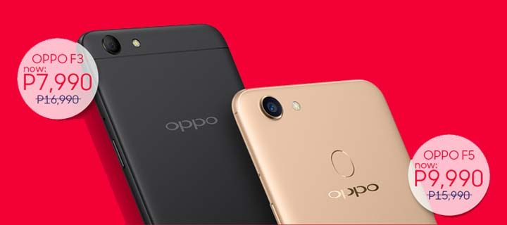 Score big discounts on OPPO F3 and F5 at Lazada 12.12