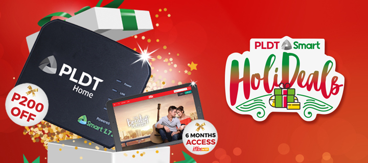 Special Christmas Holideals treat: Get the PLDT Home Prepaid WiFi with big discount, exciting perks