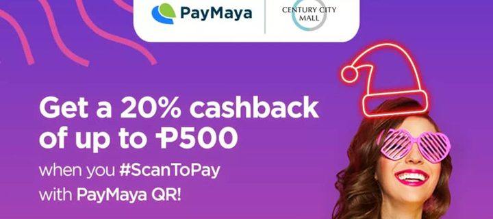 Shop with PayMaya to enjoy online and offline cashbacks plus a chance to win P10 million