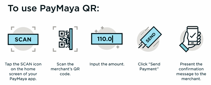 Get up to P1,500 in cashbacks when you pay with PayMaya QR