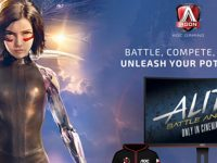 AOC partners with Twentieth Century Fox to Promote Release of Alita: Battle Angel