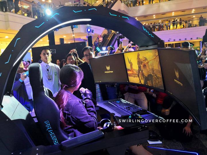 Alodia Gosiengfao, Acer Predator Thronos