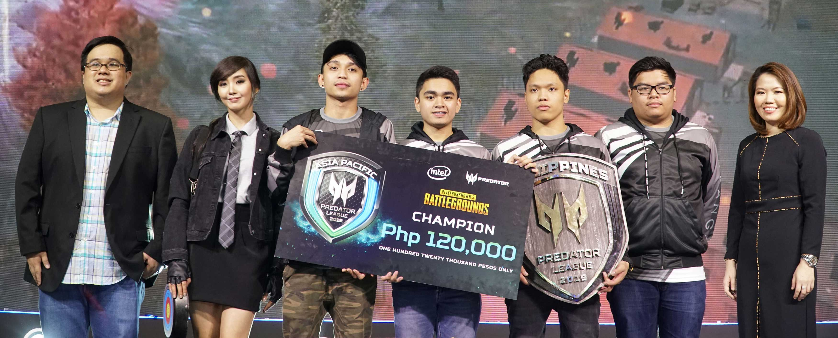 Team ARKANGEL wins Predator PUBG Philippine Finals, takes home PHP120,000 in cash prizes