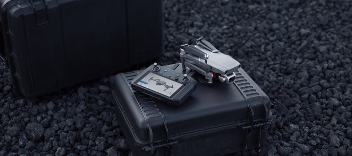 DJI Introduces A Smart Remote Controller With Built-In Display at CES 2019