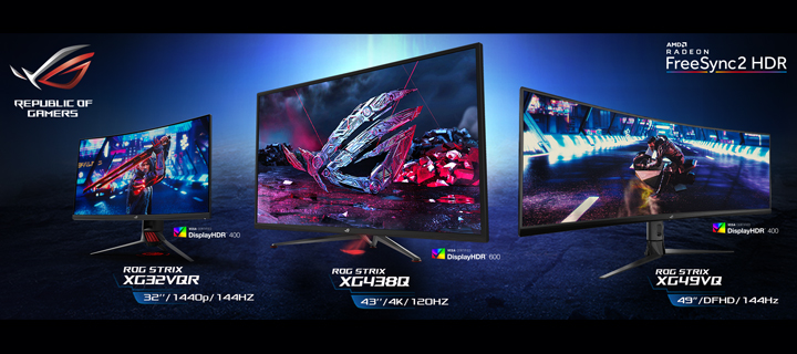 ASUS ROG announces new Strix XG HDR Gaming Monitor Lineup