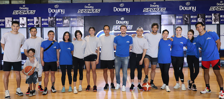 Feeling stinky when you perspire? Don't sweat it! Nico Bolzico and Alex Gonzaga puts New Downy Sports to an Extreme Freshness Challenge