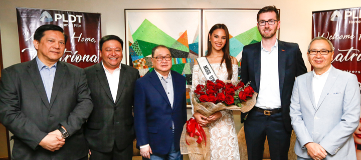 Miss Universe 2018 Catriona Gray meets with MVP