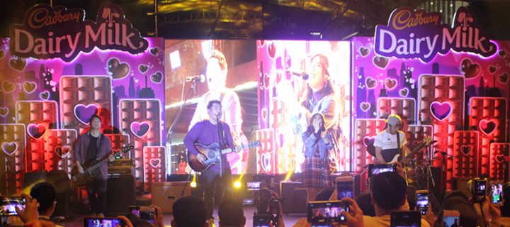 The Cadbury Dairy Milk Pop Your Heart Valentine's Concert made everyone expressed their feelings and #SayItWithCadbury.