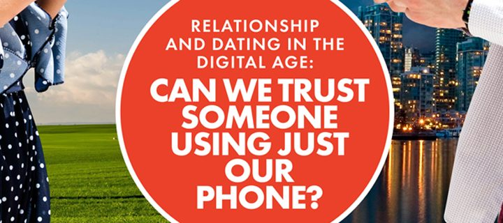 Relationships and dating in the digital age: Can we trust someone using just our phones?